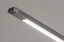 Vloerlamp 14102: modern, aluminium, metaal, staalgrijs #6