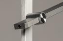 Vloerlamp 14102: modern, aluminium, metaal, staalgrijs #8