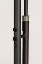 Vloerlamp 14107: design, modern, glas, staal rvs #24