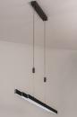 Hanglamp 14108: design, modern, staal rvs, kunststof #3