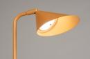 Vloerlamp 14134: design, modern, metaal, geel #5