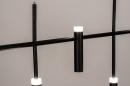 Hanglamp 14135: design, modern, metaal, zwart #10