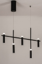 Hanglamp 14135: design, modern, metaal, zwart #2