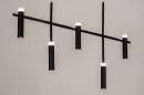 Hanglamp 14135: design, modern, metaal, zwart #3