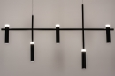Hanglamp 14135: design, modern, metaal, zwart #5