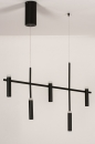 Hanglamp 14135: design, modern, metaal, zwart #6