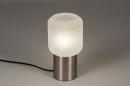 Tafellamp 14137: landelijk, rustiek, modern, glas #2