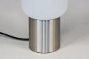 Tafellamp 14137: landelijk, rustiek, modern, glas #5