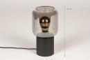 Tafellamp 14139: landelijk, rustiek, modern, eigentijds klassiek #1
