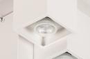 Plafondlamp 14141: modern, metaal, wit, mat #7