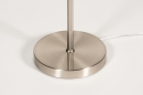 Vloerlamp 14152: modern, eigentijds klassiek, glas, staal rvs #10