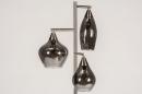Vloerlamp 14152: modern, eigentijds klassiek, glas, staal rvs #5