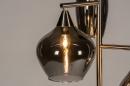Vloerlamp 14152: modern, eigentijds klassiek, glas, staal rvs #7
