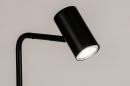 Vloerlamp 14162: modern, retro, eigentijds klassiek, metaal #6
