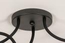 Plafondlamp 14166: industrie, look, modern, metaal #10
