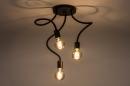 Plafondlamp 14166: industrie, look, modern, metaal #2
