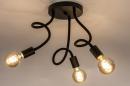 Plafondlamp 14166: industrie, look, modern, metaal #3