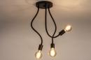 Plafondlamp 14166: industrie, look, modern, metaal #4