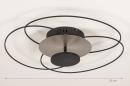 Plafondlamp 14169: modern, klassiek, eigentijds klassiek, metaal #1