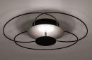 Plafondlamp 14169: modern, klassiek, eigentijds klassiek, metaal #2