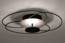Plafondlamp 14169: modern, klassiek, eigentijds klassiek, metaal #3