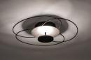 Plafondlamp 14169: modern, klassiek, eigentijds klassiek, metaal #4