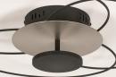 Plafondlamp 14169: modern, klassiek, eigentijds klassiek, metaal #6