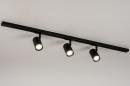 Railspot 14172: modern, metaal, zwart, mat #2