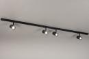 Railspot 14174: modern, metaal, zwart, mat #2