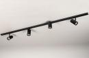 Railspot 14174: modern, metaal, zwart, mat #4