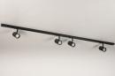 Railspot 14174: modern, metaal, zwart, mat #5