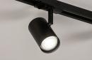 Railspot 14174: modern, metaal, zwart, mat #6