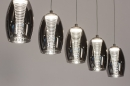 Hanglamp 14176: design, modern, eigentijds klassiek, glas #3