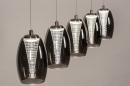 Hanglamp 14176: design, modern, eigentijds klassiek, glas #5