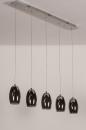 Hanglamp 14176: design, modern, eigentijds klassiek, glas #7
