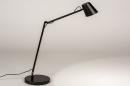 Tafellamp 14180: design, modern, metaal, zwart #2