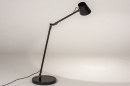 Tafellamp 14180: design, modern, metaal, zwart #3