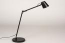 Tafellamp 14180: design, modern, metaal, zwart #4