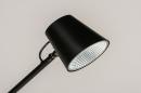 Tafellamp 14180: design, modern, metaal, zwart #5