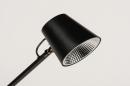 Tafellamp 14180: design, modern, metaal, zwart #6