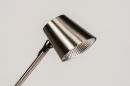 Vloerlamp 14181: modern, staal rvs, metaal, staalgrijs #10
