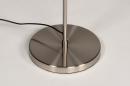 Vloerlamp 14181: modern, staal rvs, metaal, staalgrijs #12