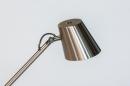 Vloerlamp 14181: modern, staal rvs, metaal, staalgrijs #9