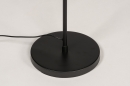 Vloerlamp 14182: modern, metaal, zwart, mat #12