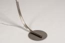 Vloerlamp 14201: design, modern, staal rvs, kunststof #9