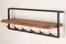 Garderobe 14212: Industrielook, laendlich rustikal, modern, coole Lampen grob #2