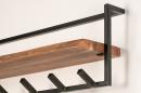 Garderobe 14212: Industrielook, laendlich rustikal, modern, coole Lampen grob #5