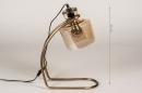 Tafellamp 14217: industrie, look, landelijk, rustiek #1