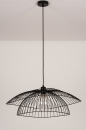 Plafondlamp 14235: modern, metaal, zwart, mat #12