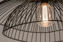Plafondlamp 14235: modern, metaal, zwart, mat #14